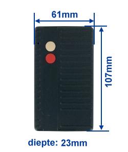 dimensie SA40-2E