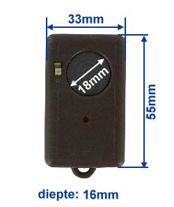 Abmessung SA40-2Mini