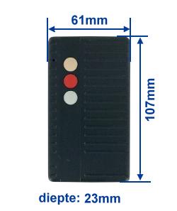 dimensie SA40-3E