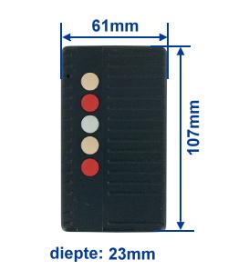 Abmessung SA40-5E