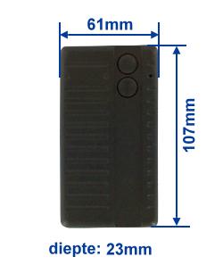 Abmessung SA434-2E