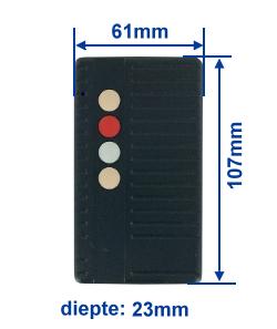 Abmessung SF40-4E