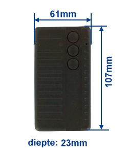 dimensie SF433-3E