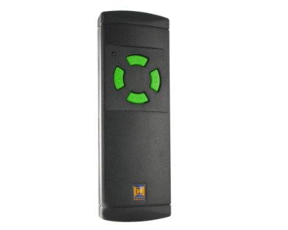 HS(M)2/4 standaard-handzender met 4 groene toetsen
