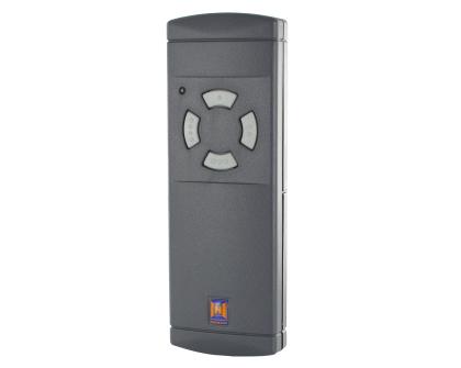 HS(M)2/4 Standaard-handzender met 4 grijse toetsen